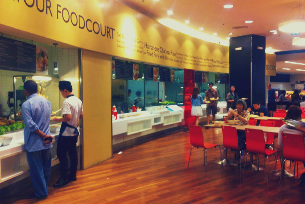 Central World food court Bangkok