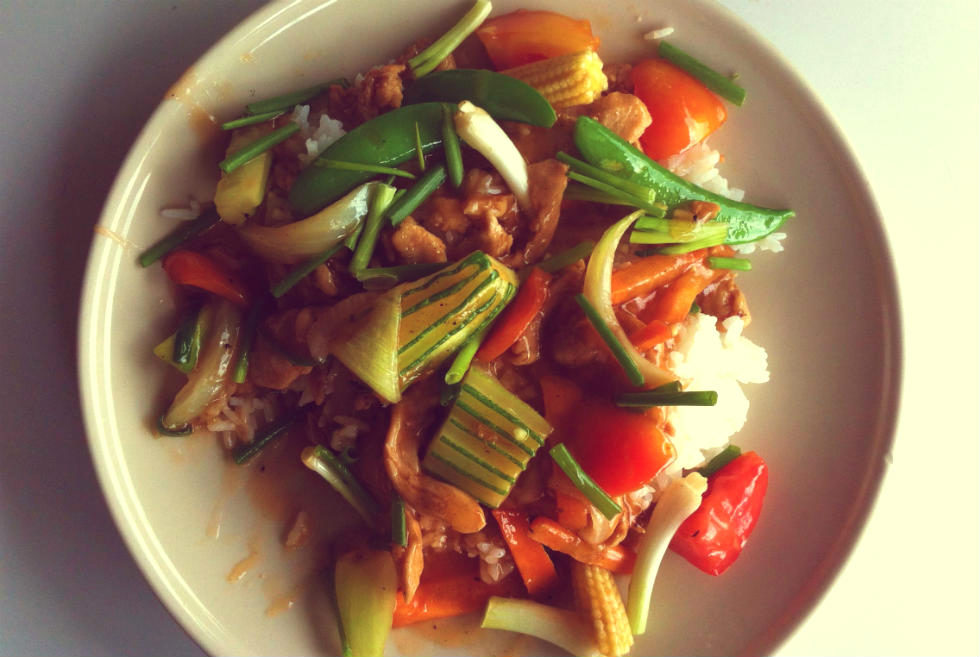 cibo a Bangkok thailandia