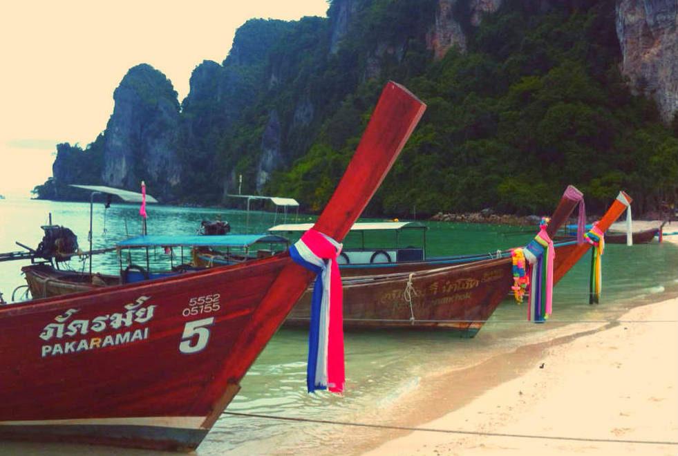 long tail barche thailandia