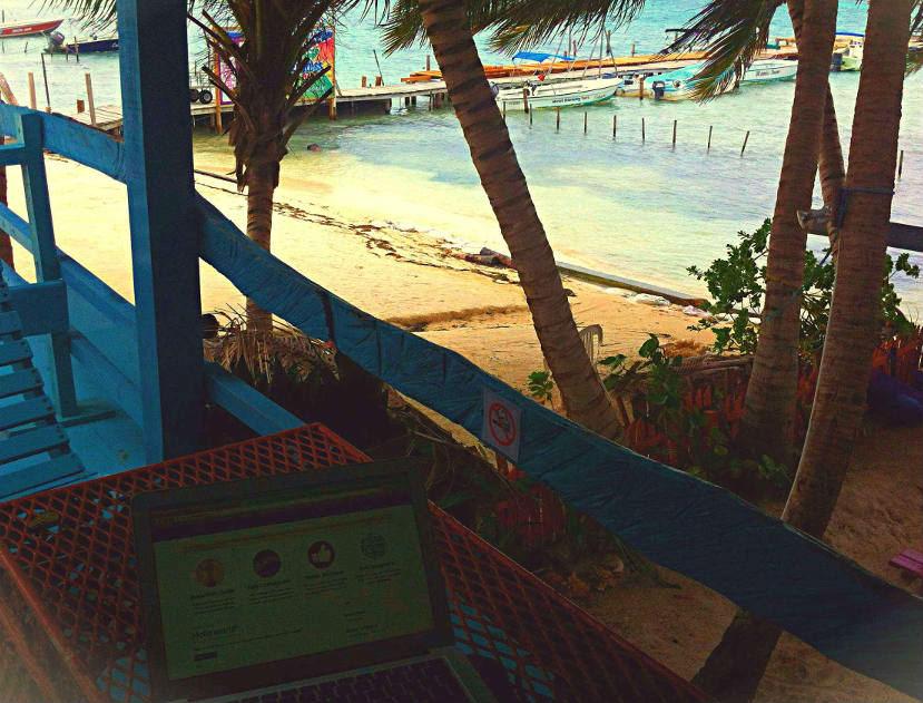 nomade digitale belize