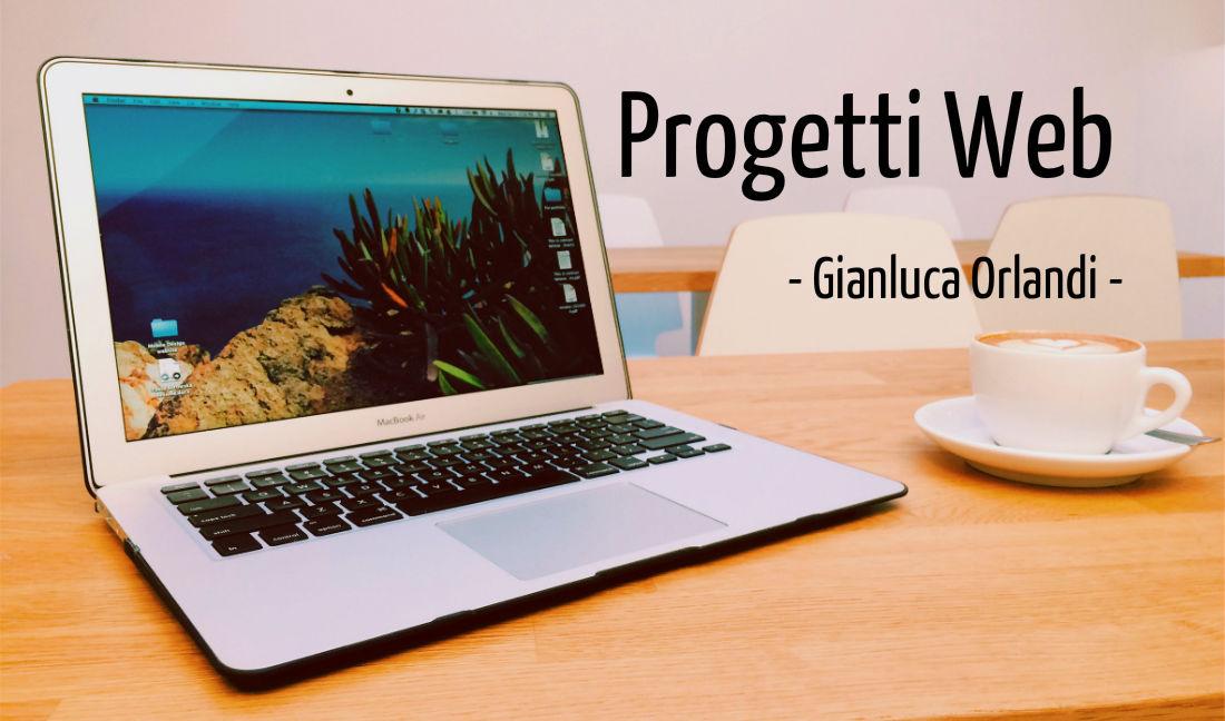 progetti web gianluca orlandi
