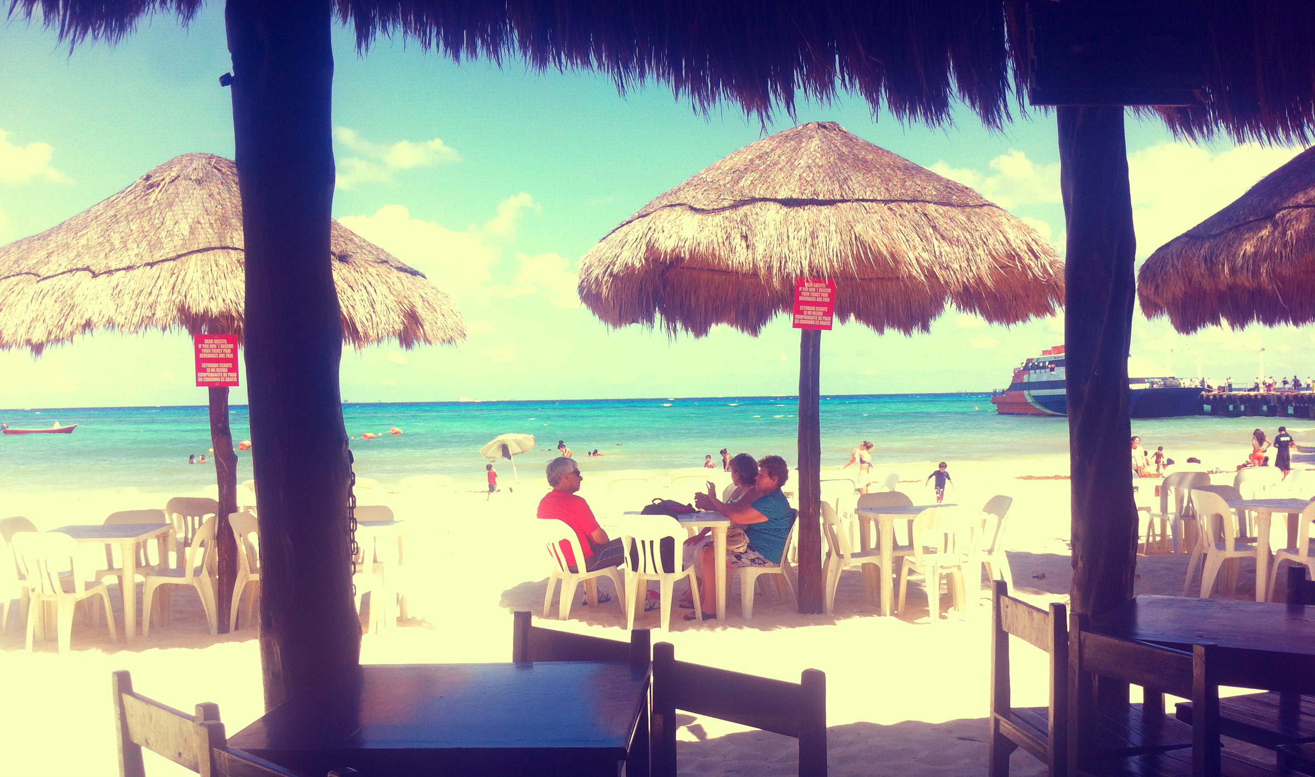 playa del carmen spiaggia