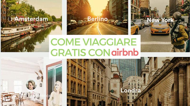 Viaggiare Gratis con Airbnb