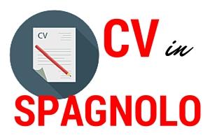 CV in spagnolo