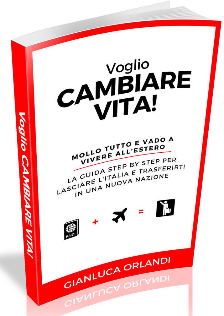 Voglio Cambiare Vita - 3D Ebook Cover