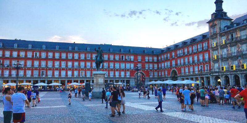 Madrid Spagna Agosto 2017