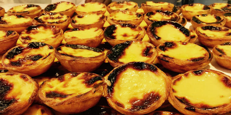 pasteis de nata Portogallo