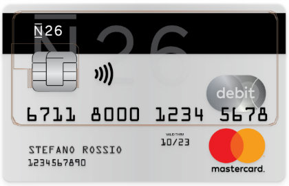 conto corrente N26 carte di debito